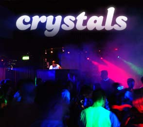 Crystals Nightclub, Newtown - Open every Saturday night