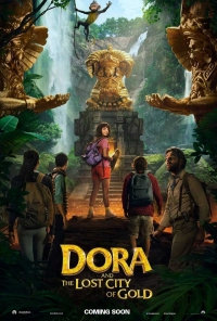 Dora and the Lost City of Gold - poster