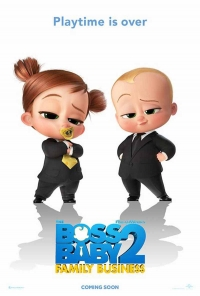 The Boss Baby 2: Family Business - poster