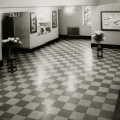 The foyer of the Regent Cinema in the late 1930s